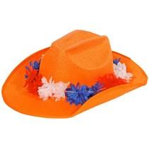 Folat - Cowboyhoed - Oranje - Holland