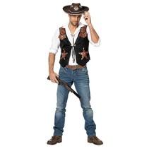 Witbaard - Cowboyvest - S/M