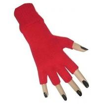 PartyXplosion - Handschoenen - Vingerloos - Rood