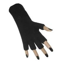 PartyXplosion - Handschoenen - Vingerloos - Zwart