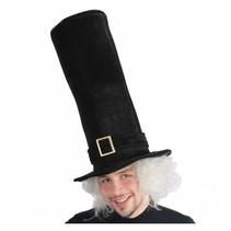 PartyXplosion - Hoed - Hoge hoed - XXL - Zwart