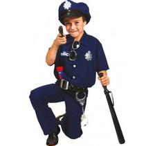 PartyXplosion - Kostuum - Politie - 4 dlg. - mt.140
