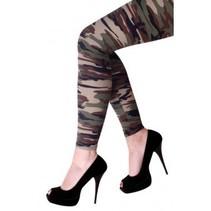 PartyXplosion - Legging - Camouflage - Volwassenen