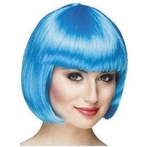 PartyXplosion - Pruik - Bobline - Icy blue