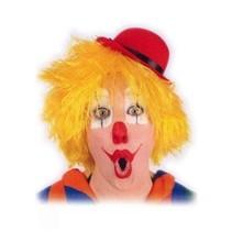 PartyXplosion - Pruik - Clown - Geel