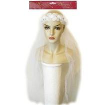 PartyXplosion - Ring met bruidssluier - Luxe