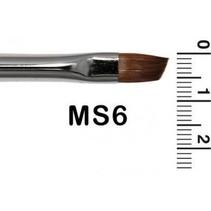 Grimas - Schminkpenseel - Schuin - Marterhaar - MS6