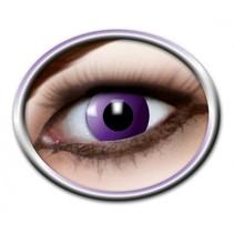 Partychimp - Gekleurde lenzen - Purple gothic - 1mnd