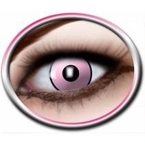 Partychimp - Gekleurde lenzen - Pink Manson - 3mnd.
