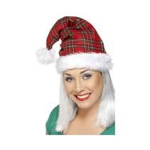 Smiffys - Kerstmuts - Schotse ruit