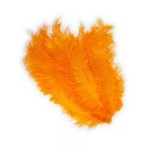PartyXplosion - Veer - Zwarte piet - Floss - Oranje - 30cm