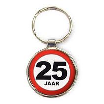 Miko - Sleutelhanger - 25 Jaar - Rond