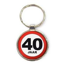 Miko - Sleutelhanger - 40 Jaar - Rond