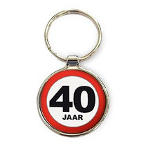Miko - Sleutelhangers - 40 Jaar - Rond