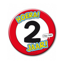 Paperdreams - Button XL - 2 Jaar