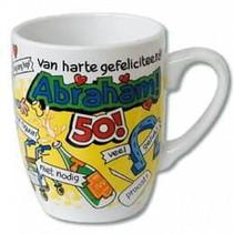 Paperdreams - Cartoonmok - 50 Jaar - Abraham