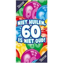 Miko - Tissuebox - Niet huilen, 60 is niet oud!