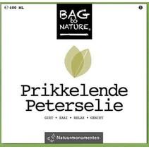 Bag to nature - Prikkelende peterselie