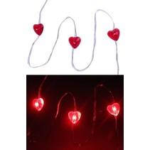 PartyXplosion - LED snoer/lichtdecoratie - Hartjes