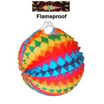 PartyXplosion - Lampion - Regenboog - 22cm