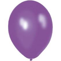 Folat - Ballonnen - Paars - Metallic - 50st.