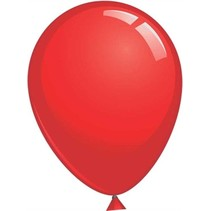 Globos - Ballonnen - Mega - 61cm - Rood - 6st.