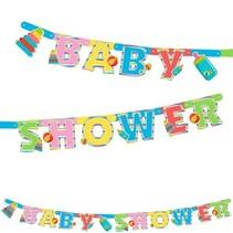 Folat - Letterslinger - Baby shower - 2,4m