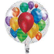 Witbaard - Folieballon - Ballonnen - Zonder vulling - 45cm