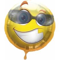 Folat - Folieballon - Emoticon - Fun - Zonder vulling