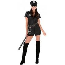 Partychimp - Kostuum - Politie - Vrouwelijk - Sexy - L