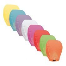 Witbaard - Wensballon - Gekleurd - 1 stuks - Willekeurig geleverd