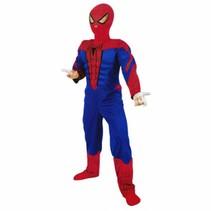 PartyXplosion - Kostuum - Spiderman III - Gespierd - mt.128/134