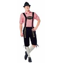 Partychimp - Tirolerbroek - Johann - Zwart - XL