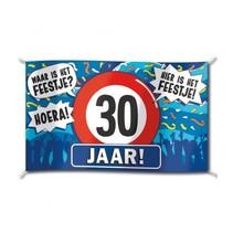 Paperdreams - Vlag - Hoera, 30 jaar - 150x90cm