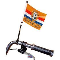 Folat - Fietsvlag - Holland - Oranje leeuw - 20x15cm