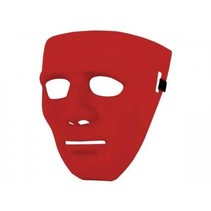 Partychimp - Masker - Anonymous - Rood