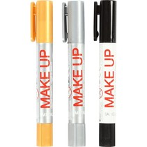 Instant - Schminkstiften - Zilver/goud/zwart