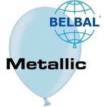 Belbal - Ballonnen - Lichtblauw - Metallic - 100st.