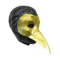 PartyXplosion - Snavelmasker - Goud - Plastic