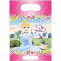 Disney - Uitdeelzakjes - Prinsessen - 6st.