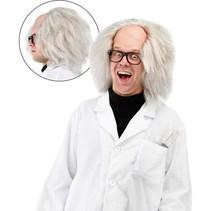 Folat - Pruik - Freaky Einstein - Met kaal hoofd