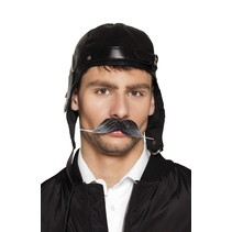 Boland - Snor - Piloot - Zwart/grijs