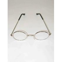 PartyXplosion - Bril - Rond - Doorzichtige glazen