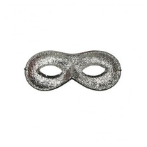 PartyXplosion - Oogmasker - Farfalla - Zilver - Glitter