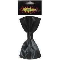 PartyXplosion - Strik - Satijn - Zwart - Luxe
