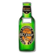 Paperdreams - Bieropener - 60 Jaar