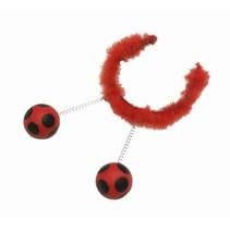 PartyXplosion - Diadeem - Ballen - Lieveheersbeestje