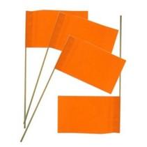 PartyXplosion - Vlaggetjes - Oranje - 50st.