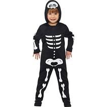 Smiffys - Kostuum - Skelet - mt.104