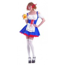 PartyXclusive - Jurk - Oktoberfest - Babe - S